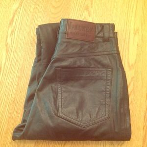 Lauren Ralph Lauren Leather High Waisted Pants 🌿